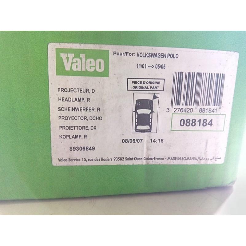 VALEO 088184 Scheinwerfer für VW